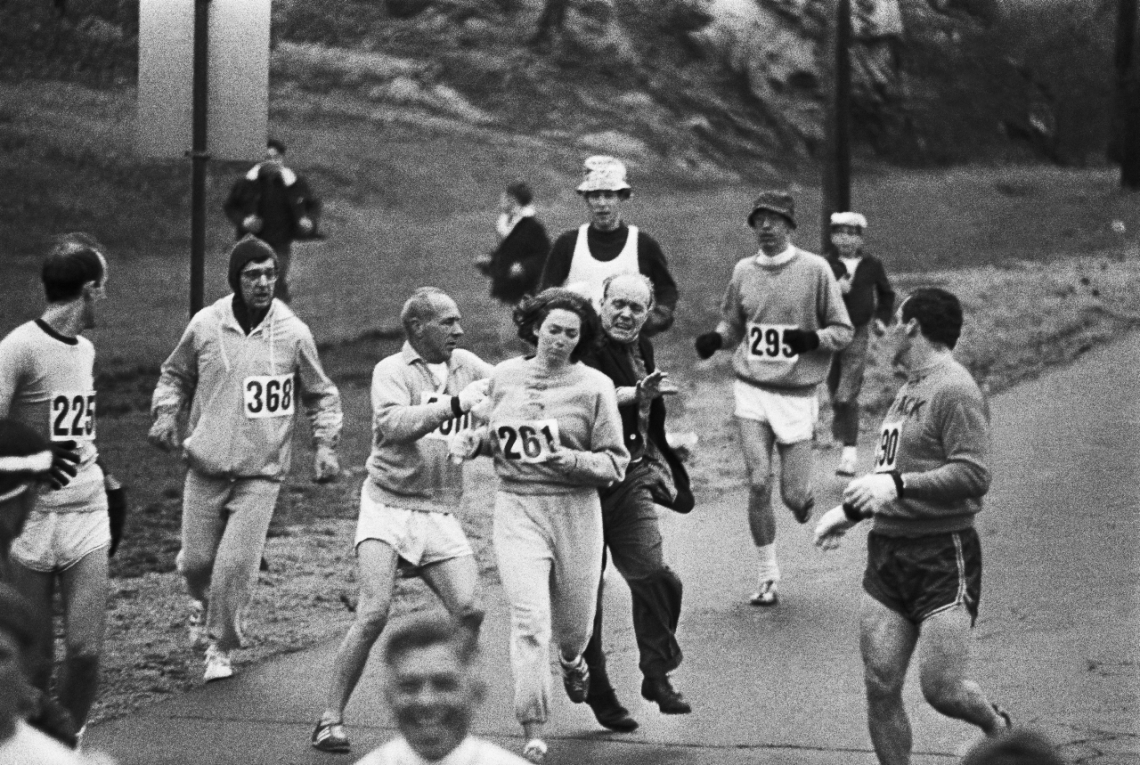 Kathrine Switzer Boston Marathon